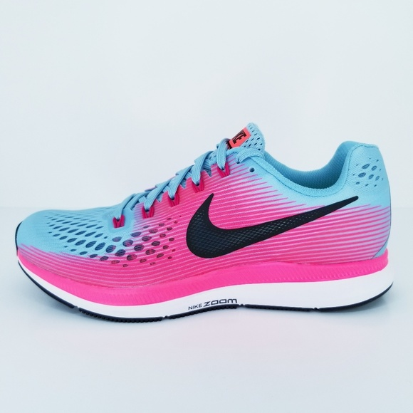 b009f810cf39d NIKE Air Zoom Pegasus 34 Womens Running Shoes Teal